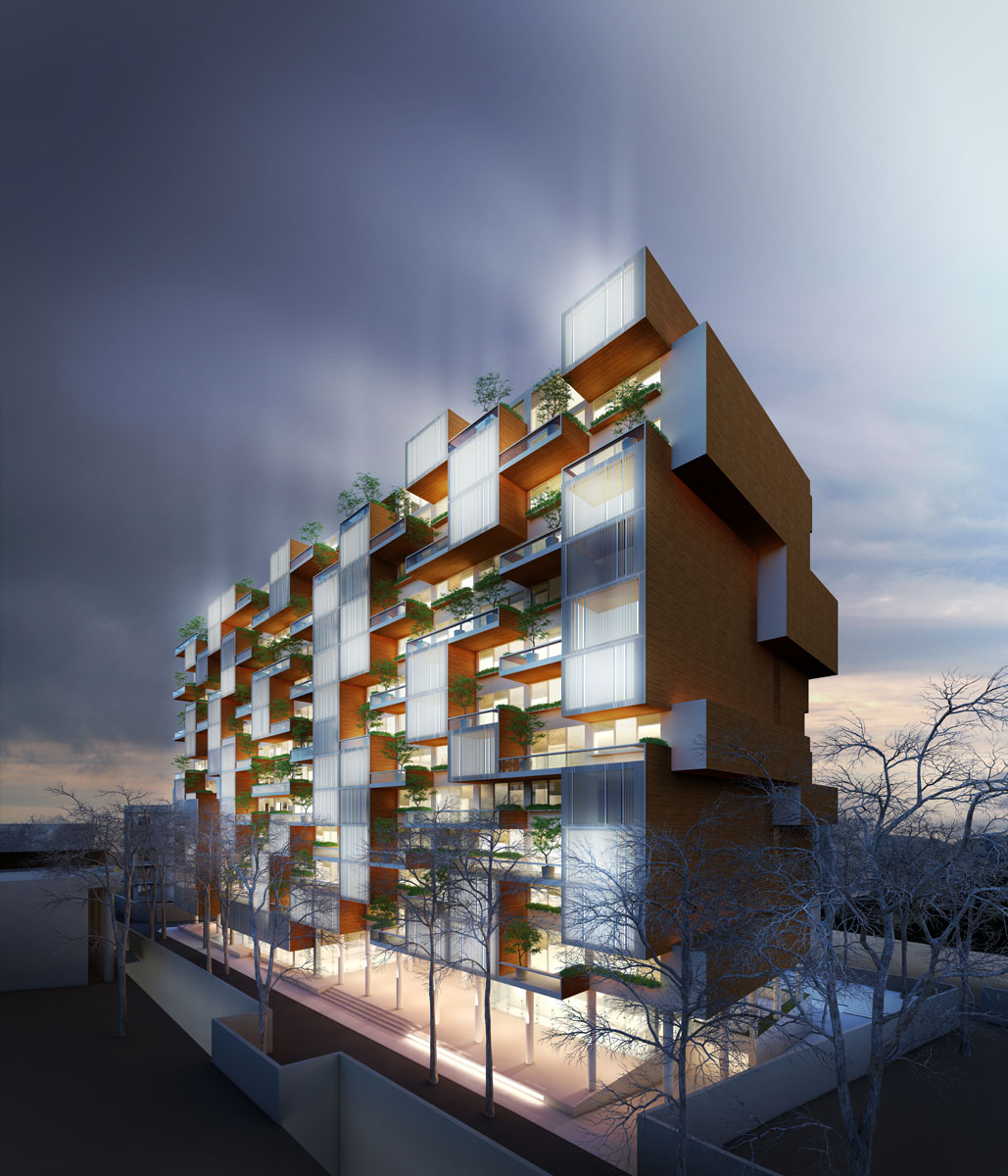 Shar Residential Complex Competition 06