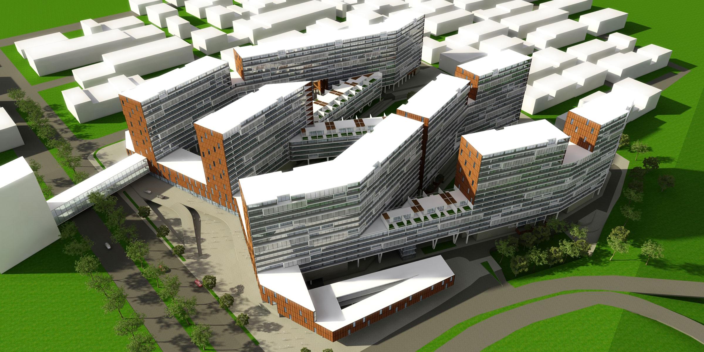 Ofogh residential complex02