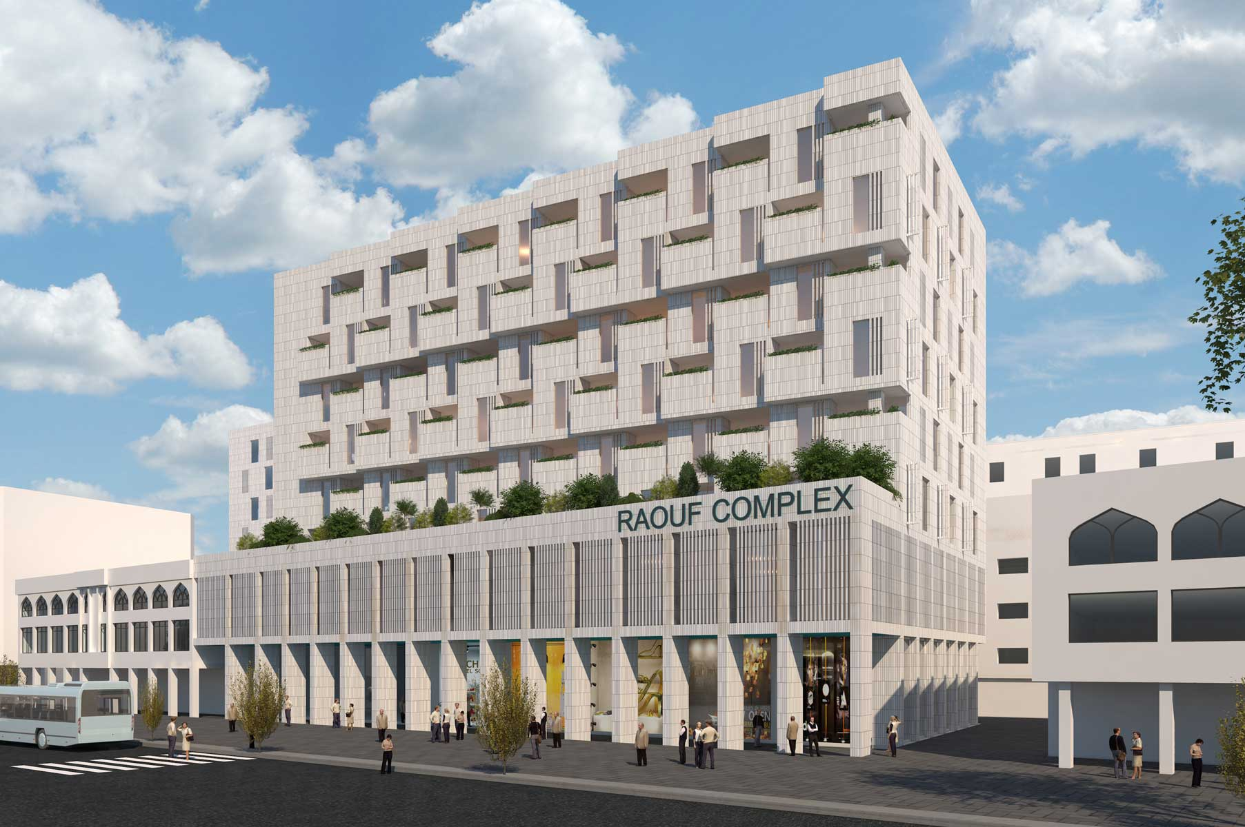 12- Raouf Mixed-Use Building