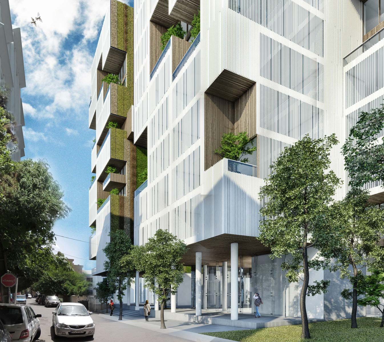 Farmanieh Residential Complex-22