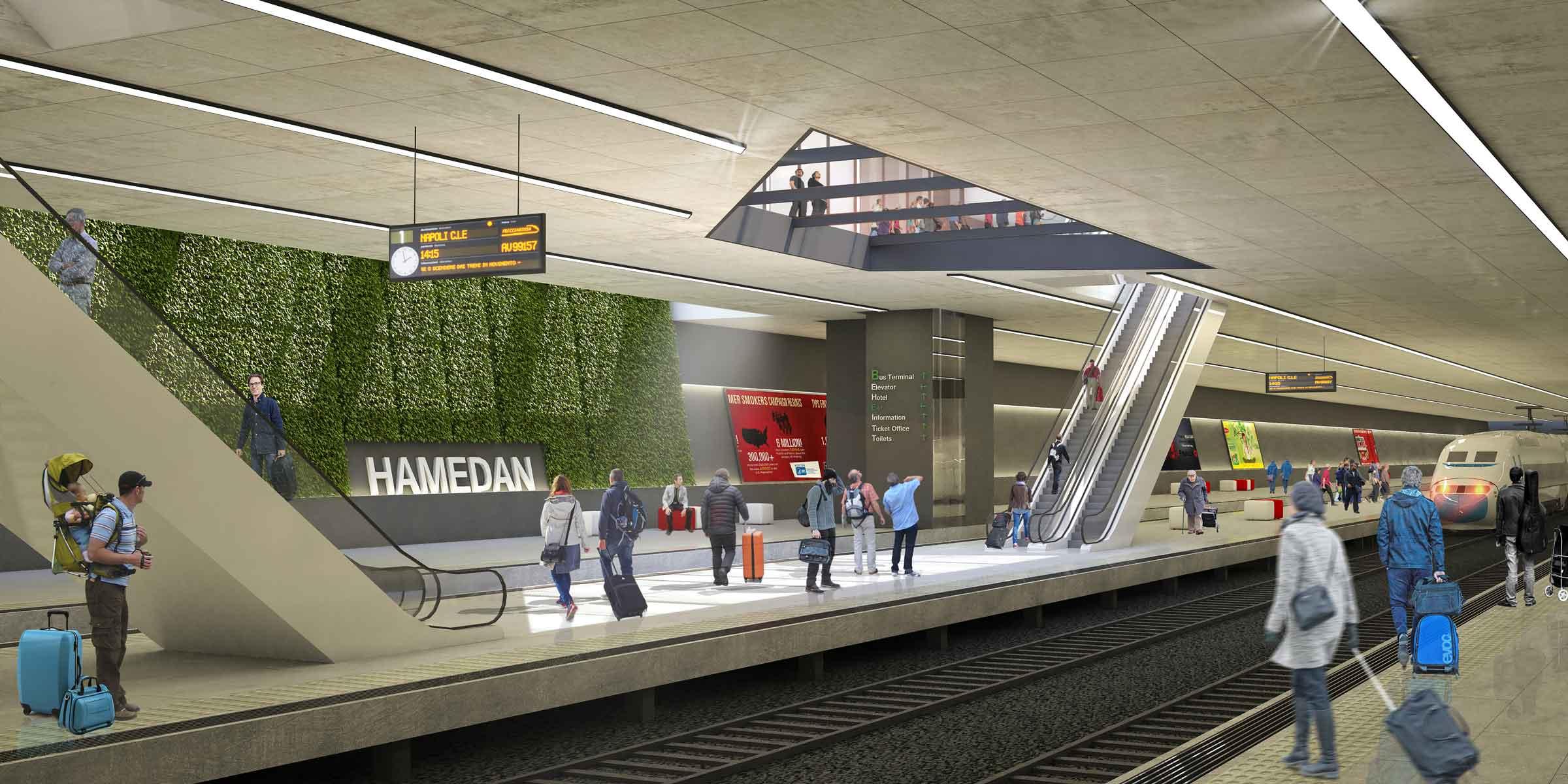 15- Hamedan Train Station