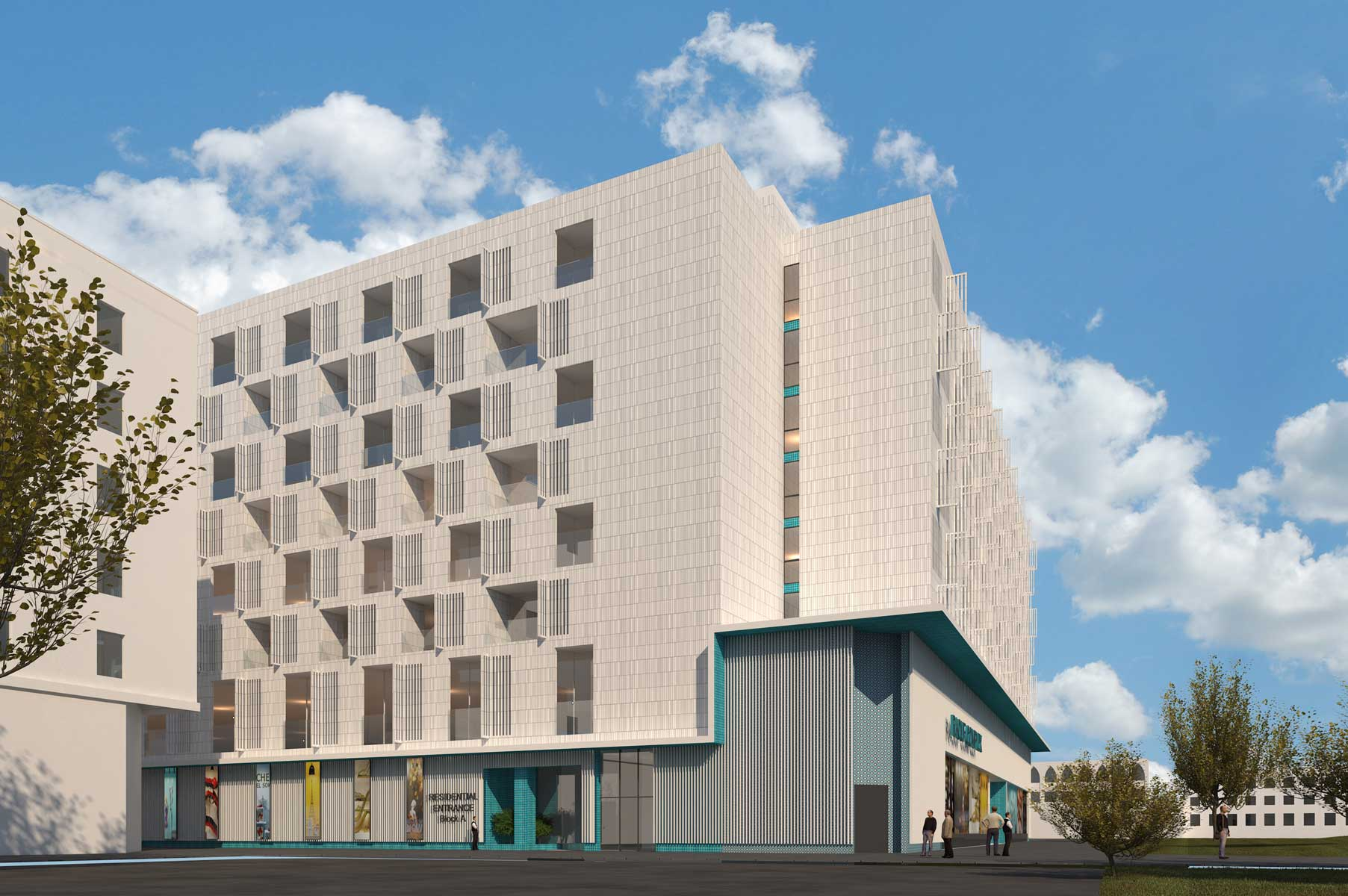 14- Raouf Mixed-Use Building