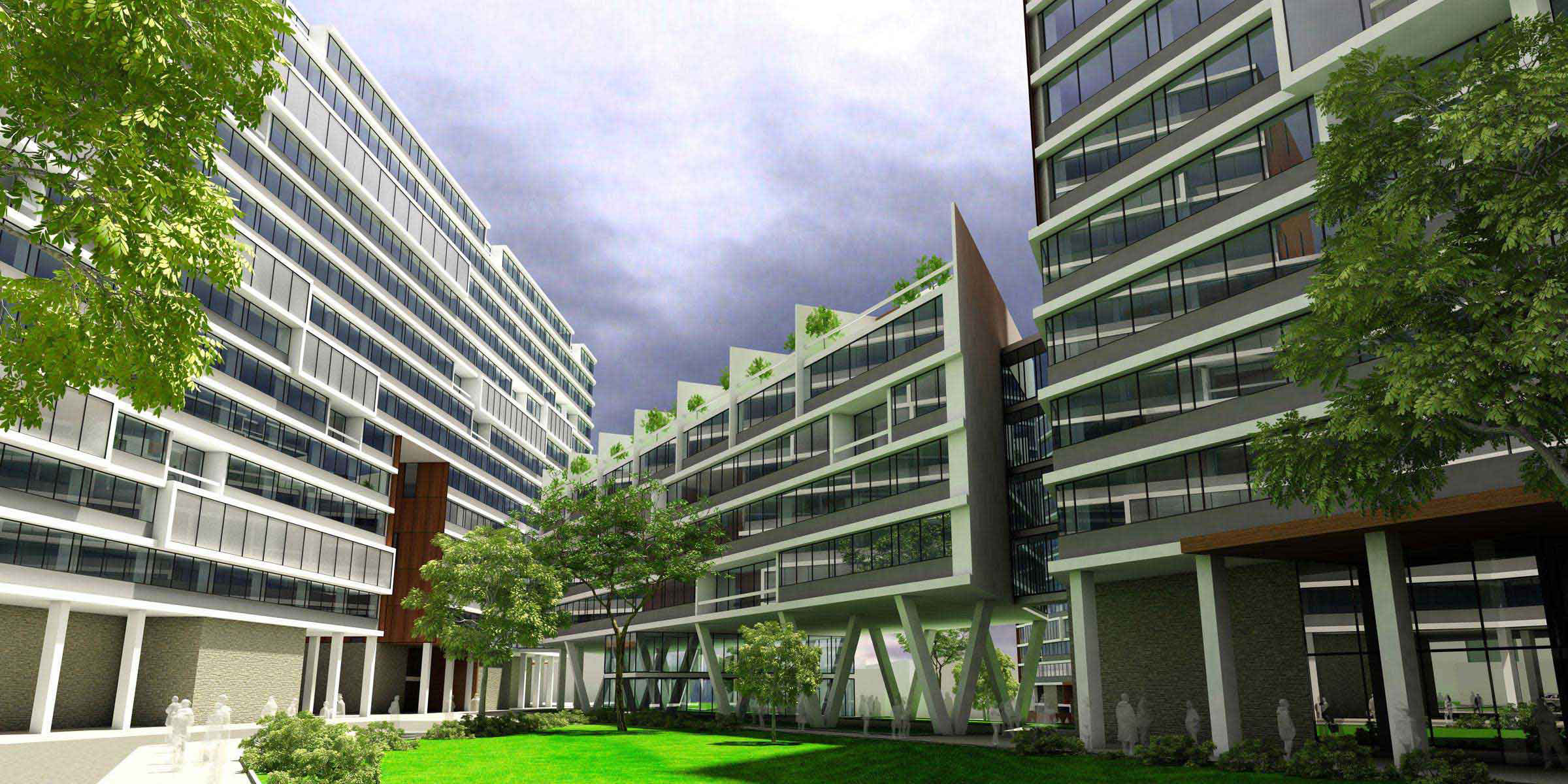 Ofogh residential complex05