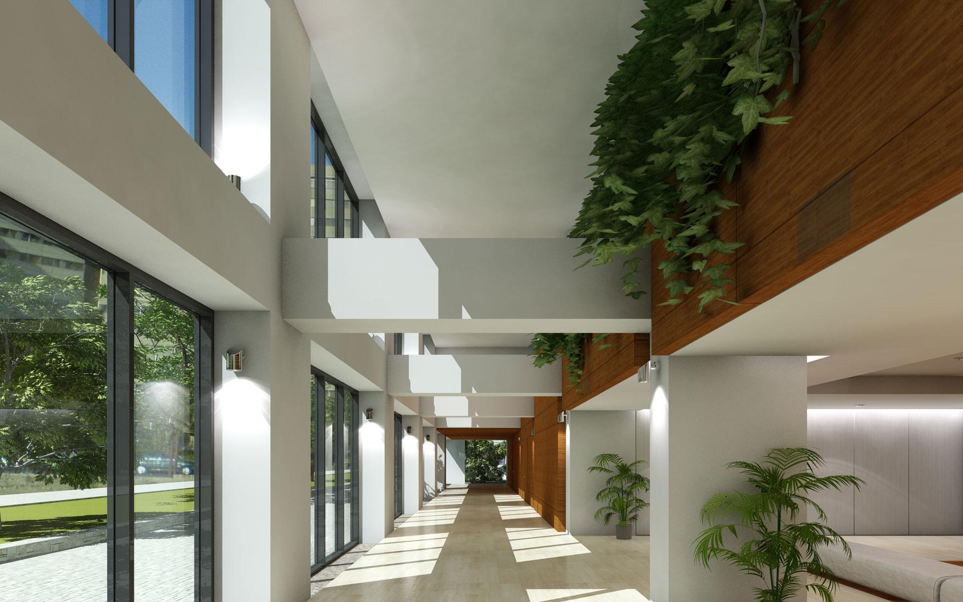 Ofogh residential complex07