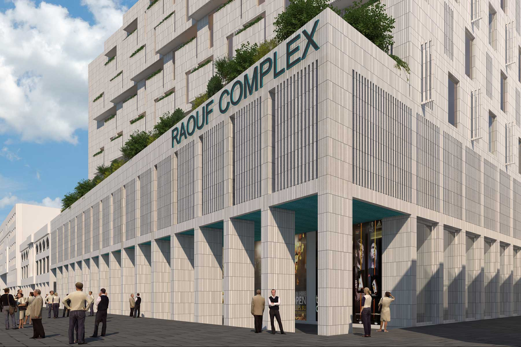 18- Raouf Mixed-Use Building