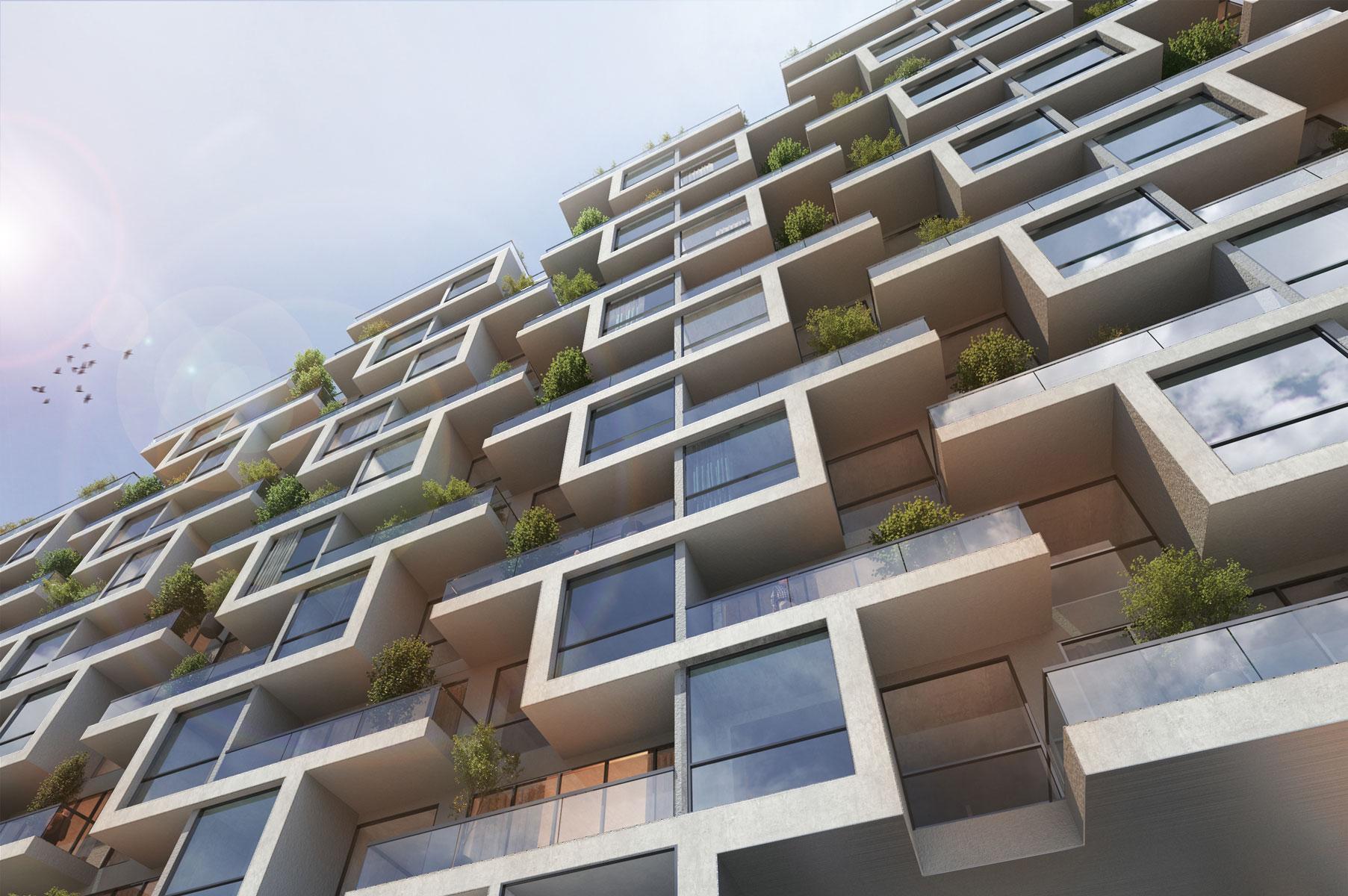 19- Eskan Residential Building