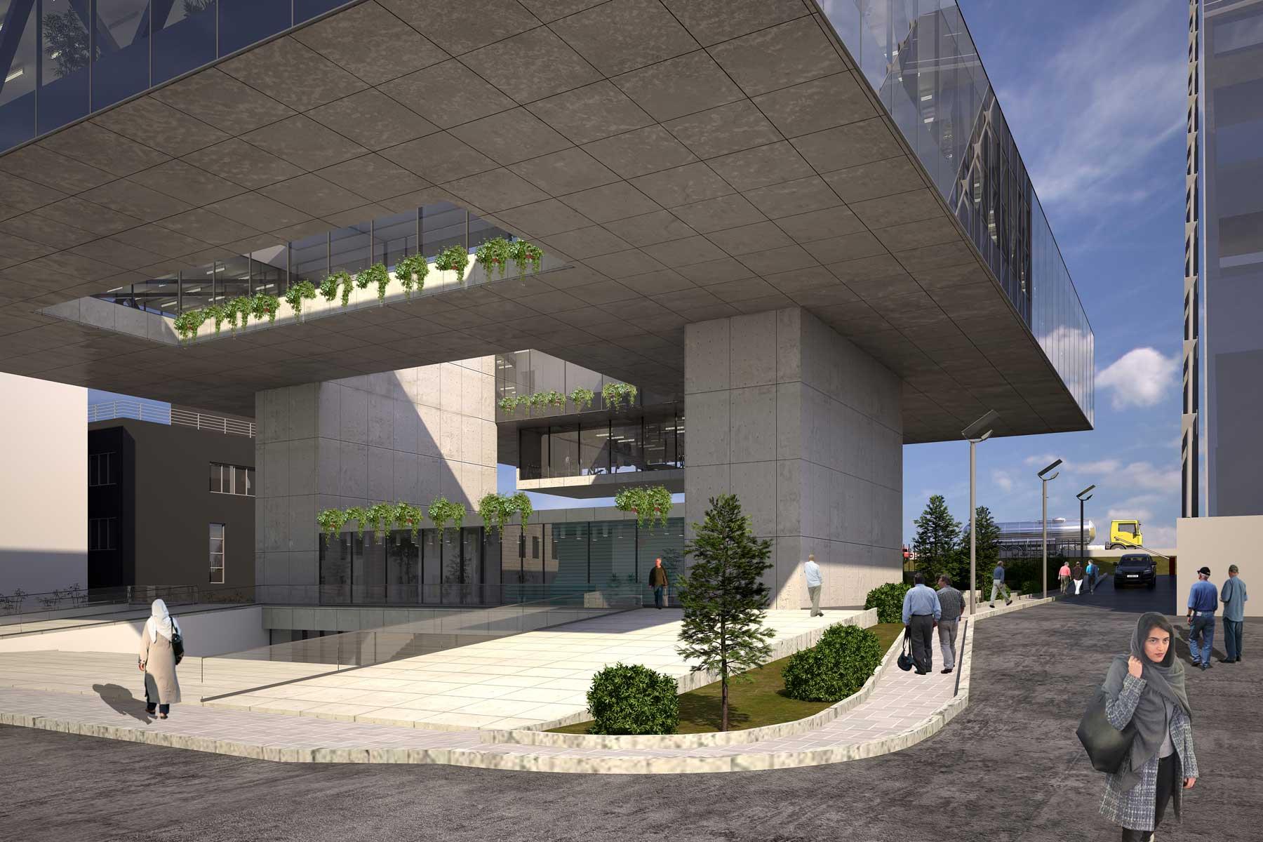 15- Asan Pardakht Headquarters Building